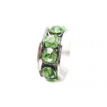 Led med stene grøn
