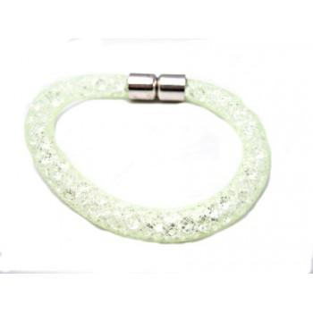 Net armbånd lys grøn 19,5 cm