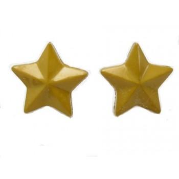 Ørestikker med lys army stjerne 14 mm