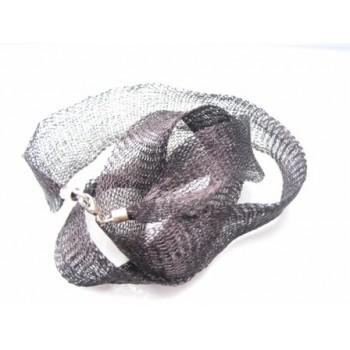 Tang sort halssmykke / armbånd