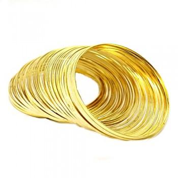 STÅL Memory wire guld...