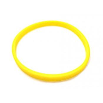 Silikone armbånd gul