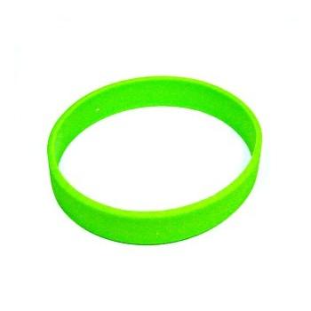 Silikone armbånd neon grøn