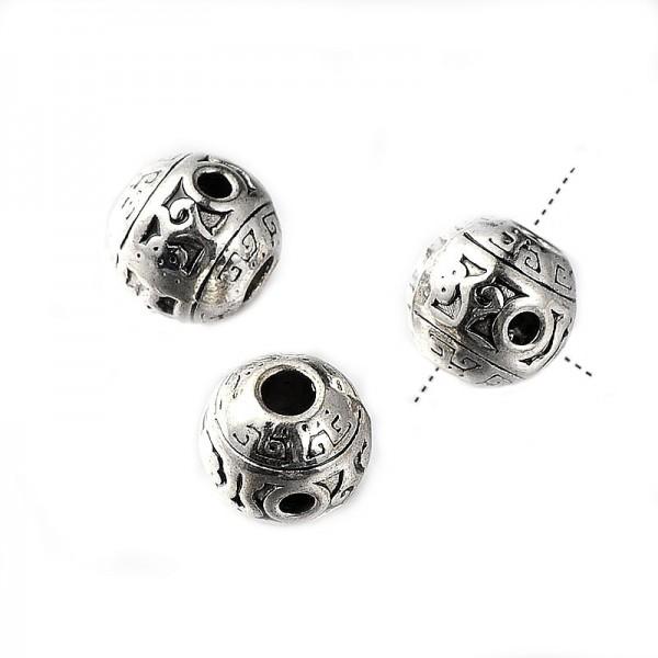 3 Huls perle - Guru perle - 10 / 1,5~2 mm