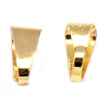 Øsken guld  7 x 4 mm - 10 stk