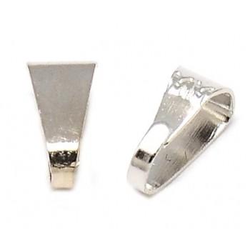 Øsken sølv  7 x 4 mm - 10 stk
