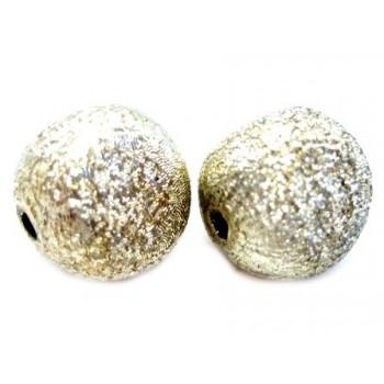 Silkebørstet guld 12 mm - 2...