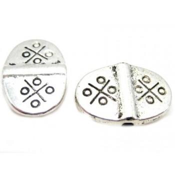 Tibetanske sølv perler 15...