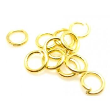 O-ring guld belagt  5 mm...