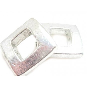Sølv metal perle