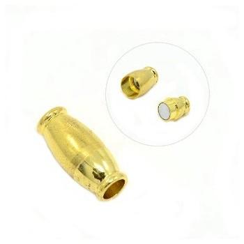 Pæn guld lås 16 mm / 4 mm indv hul
