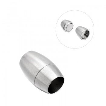 Stål lås med magnet  5 mm hul