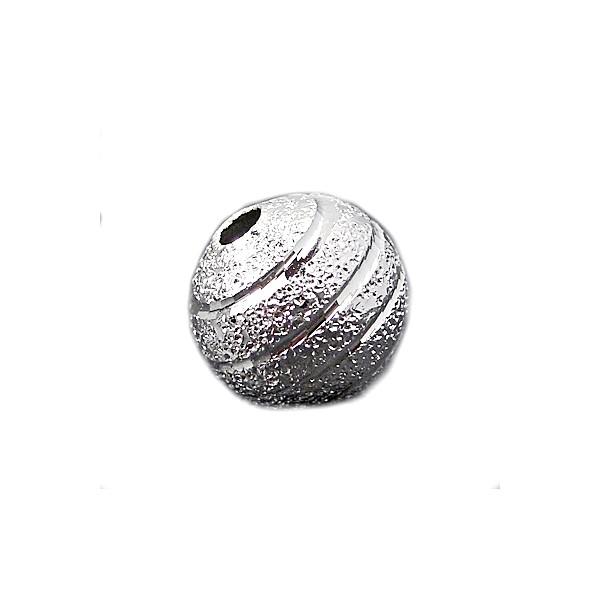 Guld stardust med diamant skæring 8 / 2 mm - 4 stk
