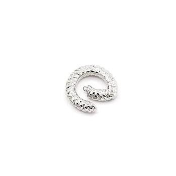 Ring lås 15 mm - guld