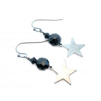 Stjerne øreringe - flere foto