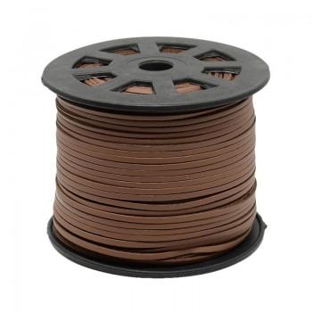 Ruskind 3 x 1,5 mm brun - 1 m