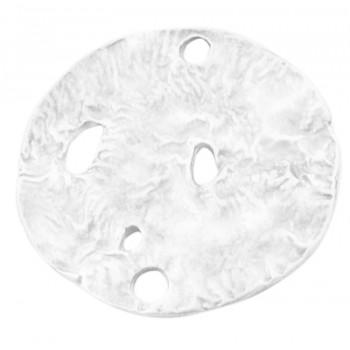 Forbindelses plade / knap 23 mm - 1 stk