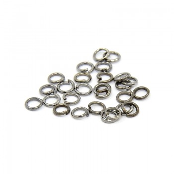 O-ring sort 4 x 0,7/3 mm - 30 stk