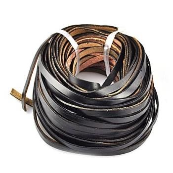 læderbånd 5 x 2 mm - 1 m