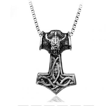 Thorshammer med kæde